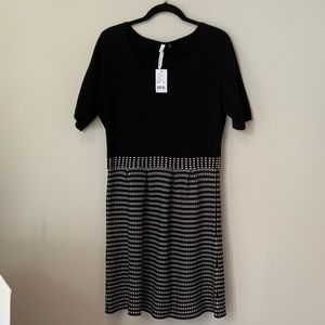 NY collections Sweater dress (L)